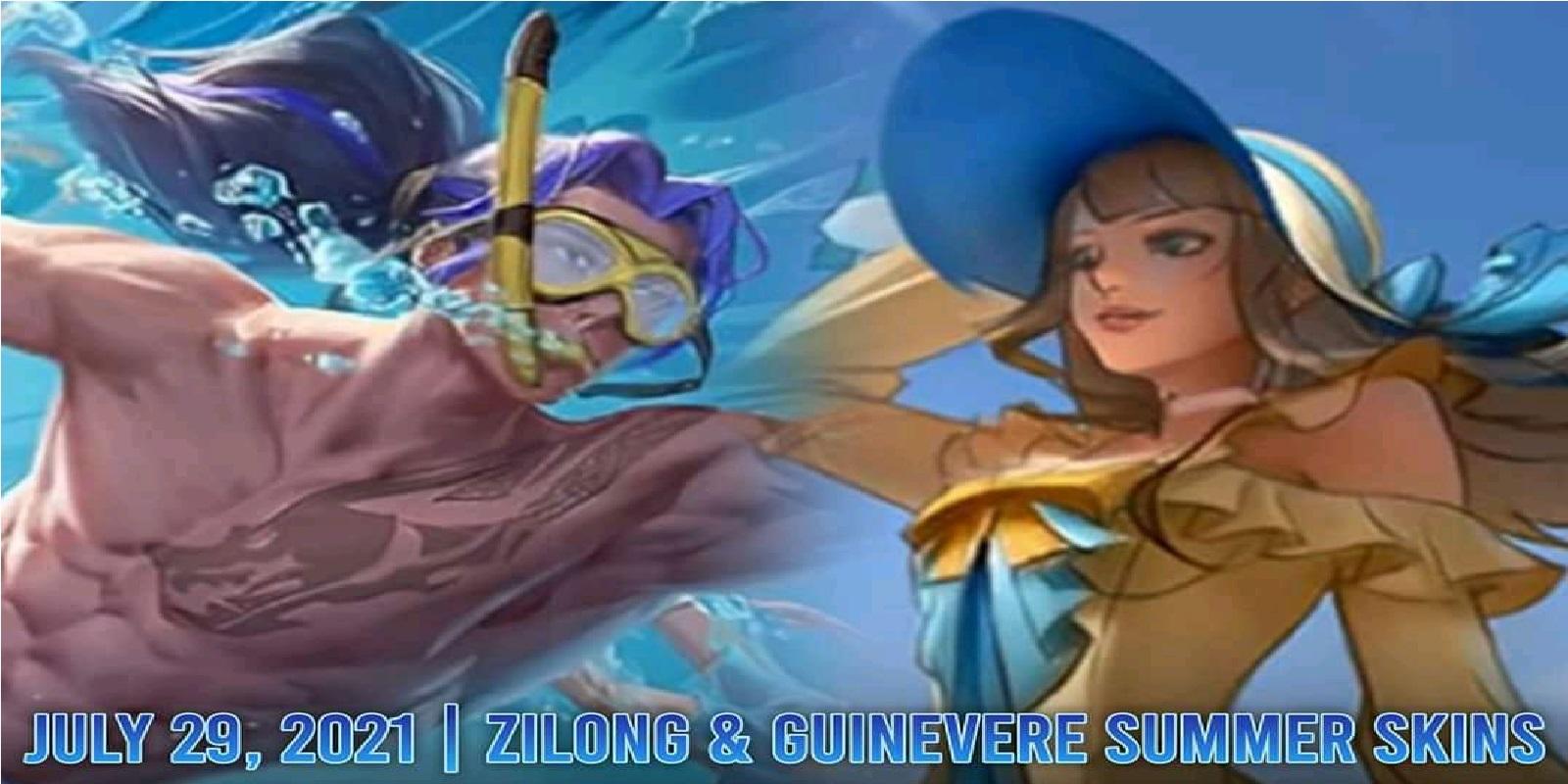 Zilong & Guinevere Special Summer Skin Release Date Mobile Legends (ML) – Esports